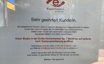 Notöffnung Corona Deutsch